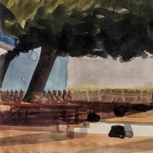 Prés des Sables d'Olonnes Vendée par Albert Chavaz