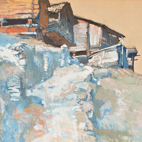 Riod-Hérémence par Edouard Vallet