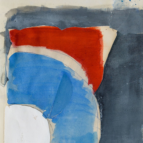 Bleu ,blanc, rouge par Roger Pfund
